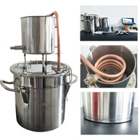 5Gal/20L Home Brew Alcohol Moonshine Distiller Used For Wine Making Water Distillation Alcohol Vodka Making