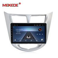 MEKEDE Android 8.1 2 din Car DVD GPS for Hyundai Solaris 2011 2012 2014 2015 2016 radio tape recorder video player USB wifi BT