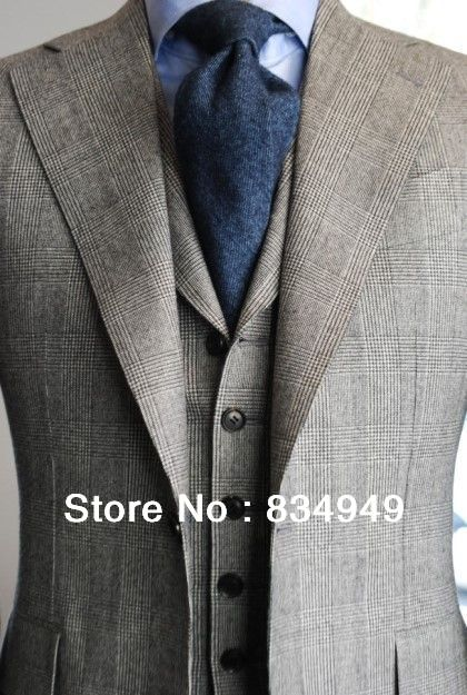 Aliexpress.com : Buy CUSTOM MADE TO MEASURE mens BESPOKE suit ...