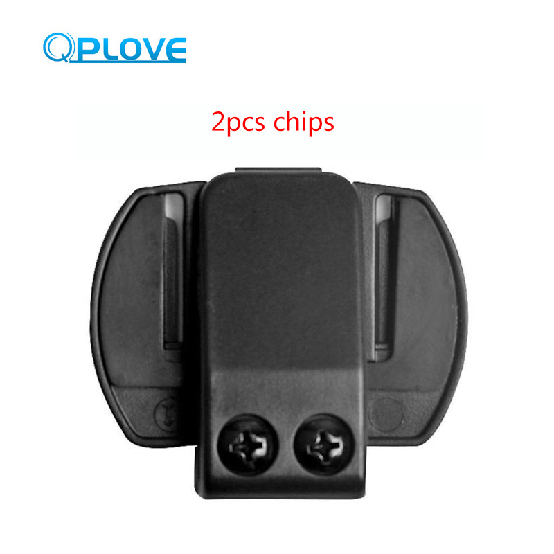 QPLOVE Vnetphone V6 V4 V6C Intercom Clip Help To Fix And Protect Interphone Fixed Helmet Bracket
