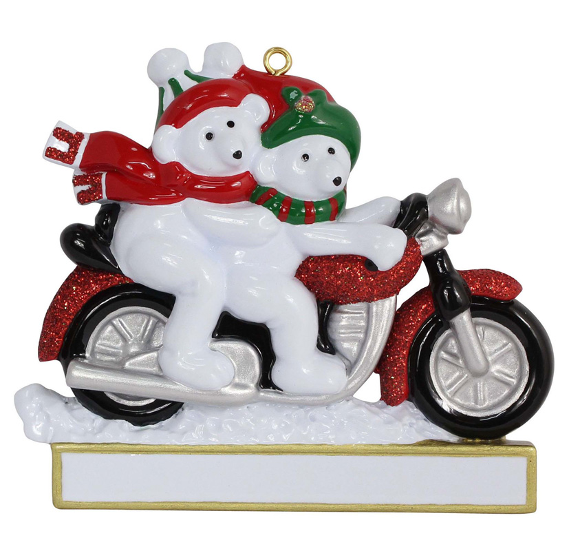 Motorcycle Christmas Decorations