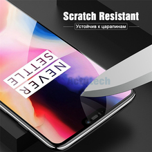 9D Full Coverage Complete Tempered Glass Glue For Oneplus 7 Full Screen Protector Protective Film For Oneplus 6 T 6 5 T 5 цена и фото