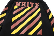 Off white hoodie brand eye theme