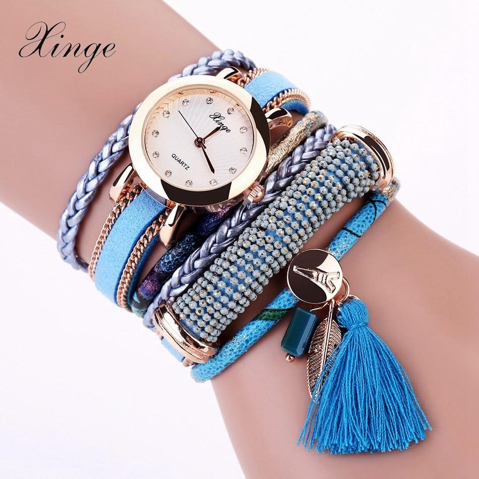 Xinge Brand New Fashion Luxury Bracelet Quartz Watches Women Casual Watch Women Wristwatches For Women Female Quartz Watch daikin ftxb20c rxb20c