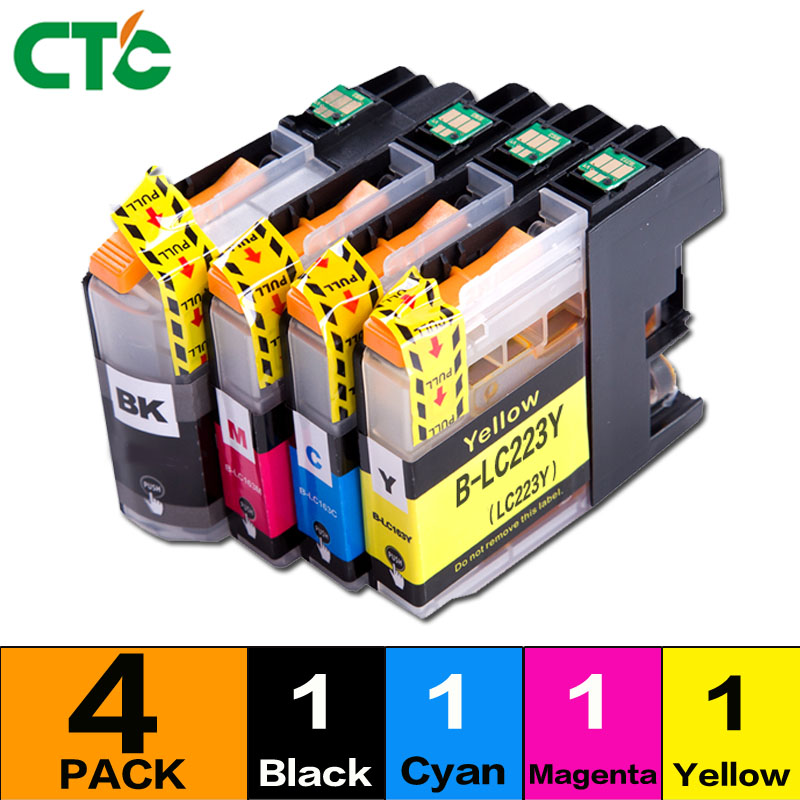 LC223 ink cartridge LC 223 LC223XL compatible For Brother DCP-J562DW DCP-J4120DW MFC-J480DW MFC-J680DW MFC-J880DW MFC-J4620DW 5x ink cartridge lc10 lc37 lc51 lc57 lc960 lc970 lc1000 for brother dcp 130c dcp 135c mfc 235c mfc 240c printer inkjet