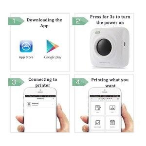 Image 2 - Mini imprimante thermique Bluetooth Portable, appareil Photo de poche, pour iOS Android, Paperang
