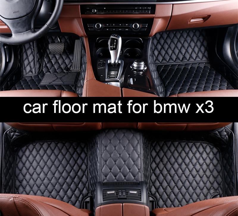 Lsrtw2017 Car Styling Fiber Leather Car Interior Floor Mat
