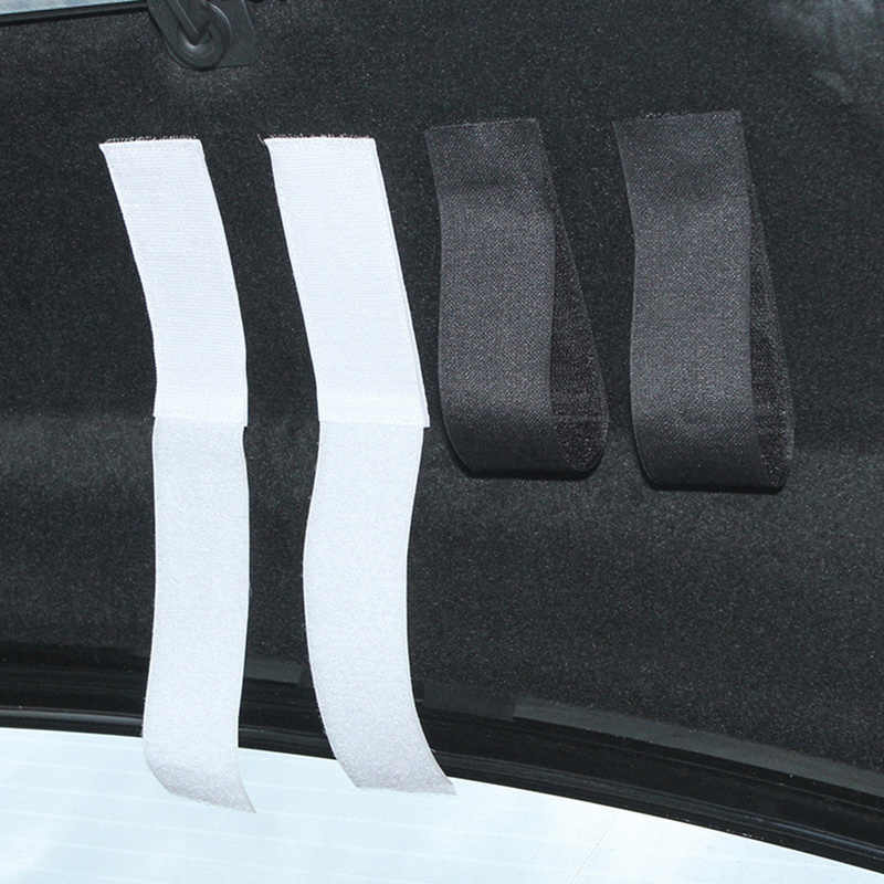سيارة المنظم جذع تخزين حزام تحديد الشريط الفيلكرو ل ميتسوبيشي لانسر 10 فورد تستيفها الأواني السيارات الداخلية اكسسوارات