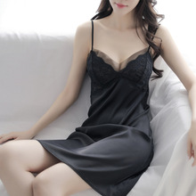 womens nightgown sleepwear Sexy sling nightdress women summer new erotic clothing extreme temptation hot mood with bra
