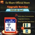 Original Real Capacity ez-Share WIFI Share SD Card 8GB Class 10 SDHC Flash Memory SD Card 8 GB cartao de memoria Free Shipping