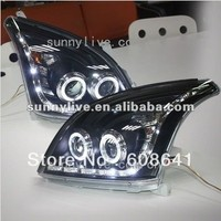 FJ120 LC120 Prado 2700/4000 LED head lamp for TOYOTA 2003 2009 year Black V3