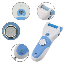 Hot Rechargeable Foot Care Tool + 6 Roller Electric Pedicure Peeling Dead Skin Removal Feet Care Machine Personal Care For Feet