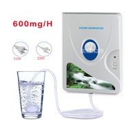 3189A High Quality 600 Mg H 220V 110V Ozone Generator Ozonizer O3 Timer Air Purifiers Vegetable