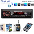 Car Auto Bluetooth In-Dash MP3 Players Stereo Audio FM Aux Input Receiver