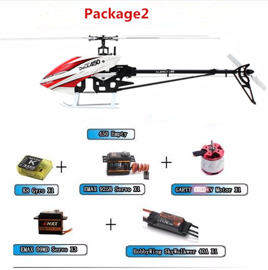 ALZRC -450 Helicopter Devil 450 Pro V2 FBL PNP - Black