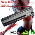 Batería del ordenador portátil para hp compaq notebook jigu mu06 batería 593553-001 593554-001 593554-001
