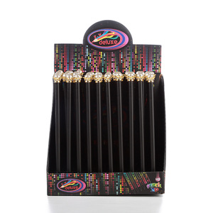 Image 5 - 20 stücke kawaii schwarz holz bleistift lot perle crown bleistift für schule büro schriftlich liefert koreanische HB standard bleistift großhandel