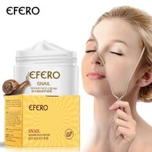 EFERO Anti Wrinkle Snail Cream Krim Wajah Pemutih Kulit Krim Jerawat Remover Anti penuaan Awet Muda Perawatan Kulit Firming Pelembab