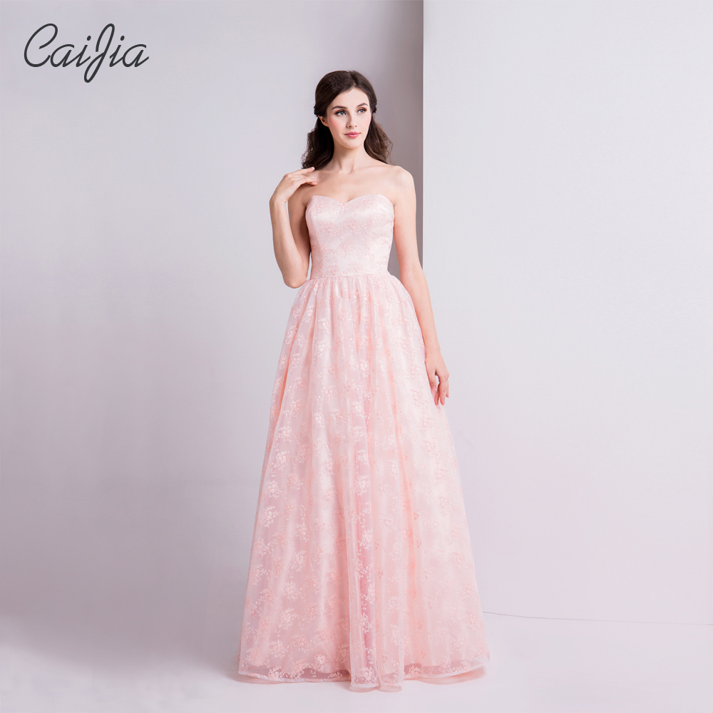 Samples Of Wedding Gowns: Aliexpress.com : Buy Caijia New Sample Pink Embroidery
