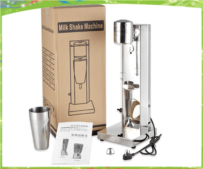 1 head Milk Shaker Blender, Milk shake machine, stainless steel milk shaker / cock tail shaker seiko ssa277j2