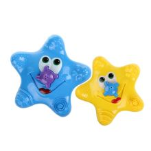 FULL-Kids Baby Electronic Starfish Shape Rotating Floating Water Bath Toys