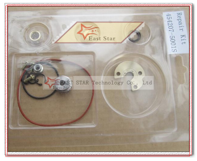 Turbo Repair Kit GT2538C 454207-5001S 454207 Turbocharger For MERCEDES Benz Sprinter Van 212D 312D 412D 1996-2006 2.9L OM602