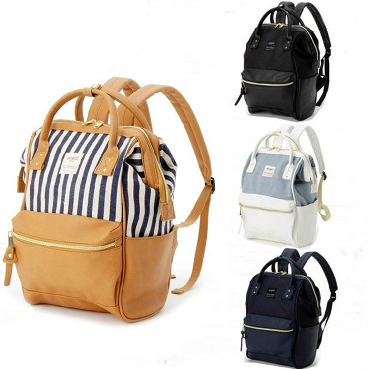 Fashion Genuine Women Backpack Hot High Quality Famous Brand Preppy Style String Women School Bag Girl