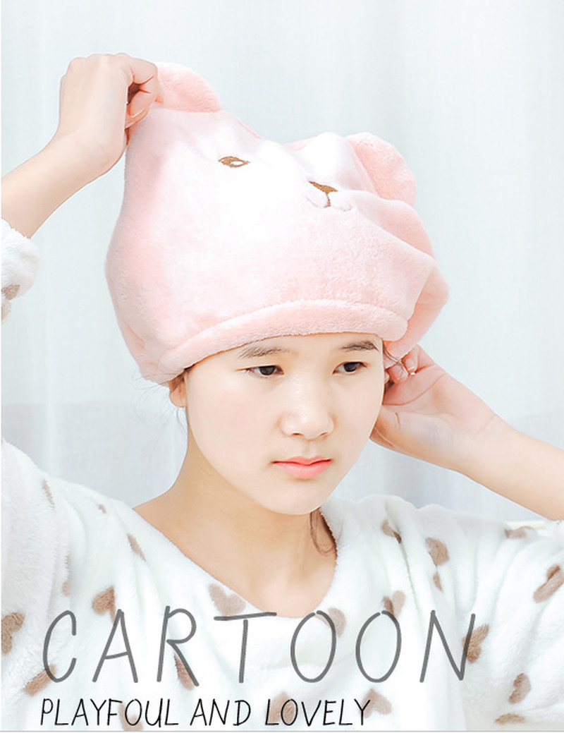 New-Cute-Bear-Bath-Cap-Soft-Microfiber-Hair-Turban-Quickly-Dry-Hair-Hat-Wrapped-Towel-Bathing (2)