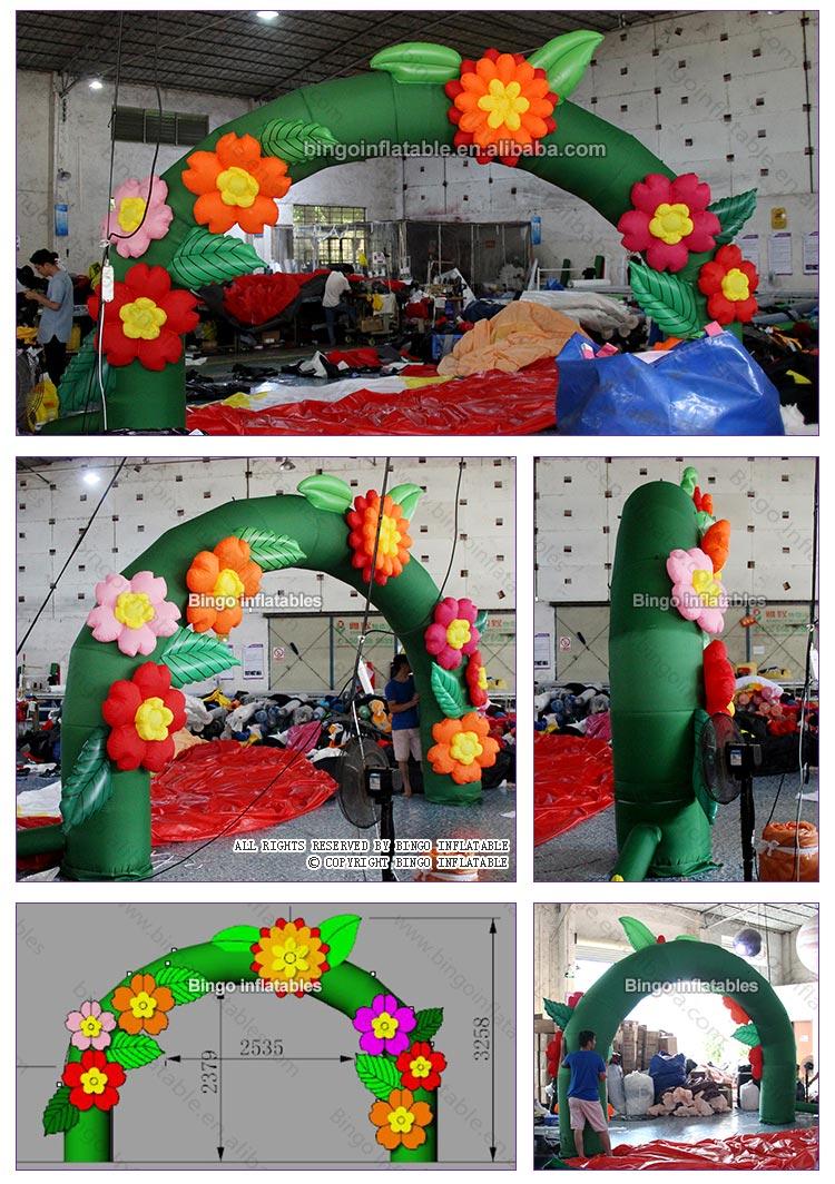 BG-A0580X-Inflatable Flower Arches_2