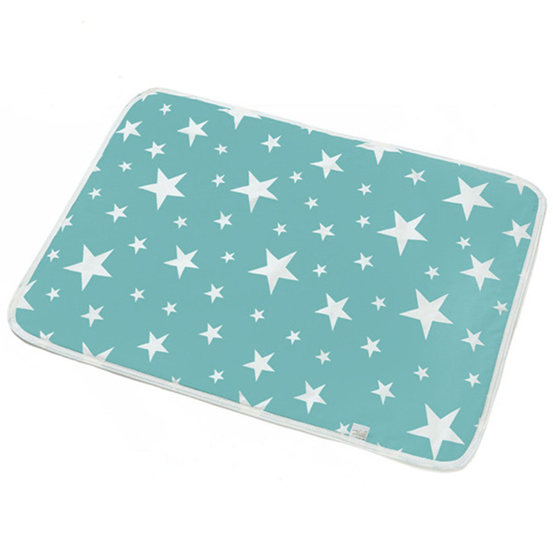 Baby Changing Mat Infants Cute Portable Foldable Washable Waterproof Mattress Children Game Floor Mats Cushion Reusable Diaper
