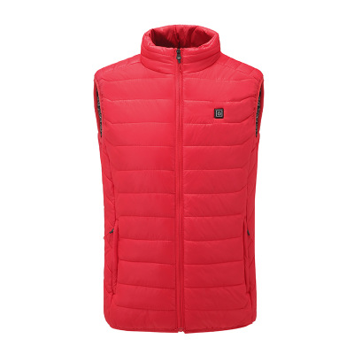 Camping & Hiking Down Light Weight Usb Electric Heating Clothes Women 90% Duck Down Jackets Smart Thermostat Hooded Heated Parkas Warm Jacket Elegant Shape