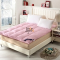 2016 New Arrival 100% Pink Mat Feather Velvet Filler Moisture-Proof Sleeping Pad Bed Mattress Bedroom Cozy Free Fast Shipping
