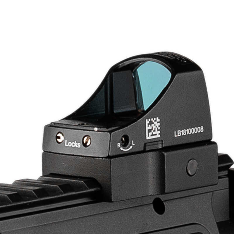Tactische gereflecteerd optics Red Dot Rifle Scope Micro Dot Reflex Holografische Dot Sight Optics Hunting Scopes Airsoft Rifle