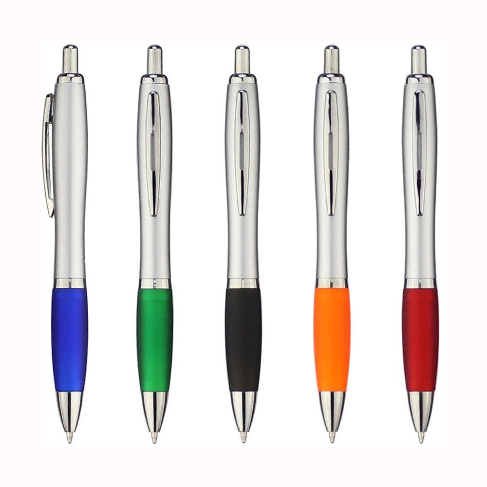 """LOT of 5 Terzetti /""""SLIM/"""" Hidden Conductive Tip Ballpoint Pens CHROME"""