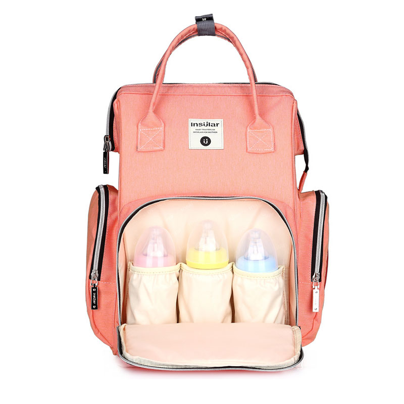 Fashion Mommy Diaper Bag Maternity Nursing Nappy Bag Stroller Large Capacity Baby Diaper Changing Backpack insular maternity bag fashion baby nappy changing bag mommy diaper stroller backpack baby organizer bag
