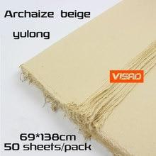69*138 см китайская yunlong xuan бумага, длинное волокно рисовая бумага для рисования