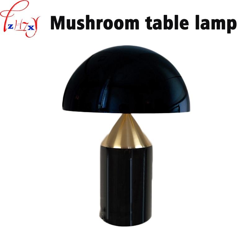 110/220V 1PC Mushroom shape desk lamps minimalist style  large mushroom lamp living room/bedroom/hotel bedside lamp