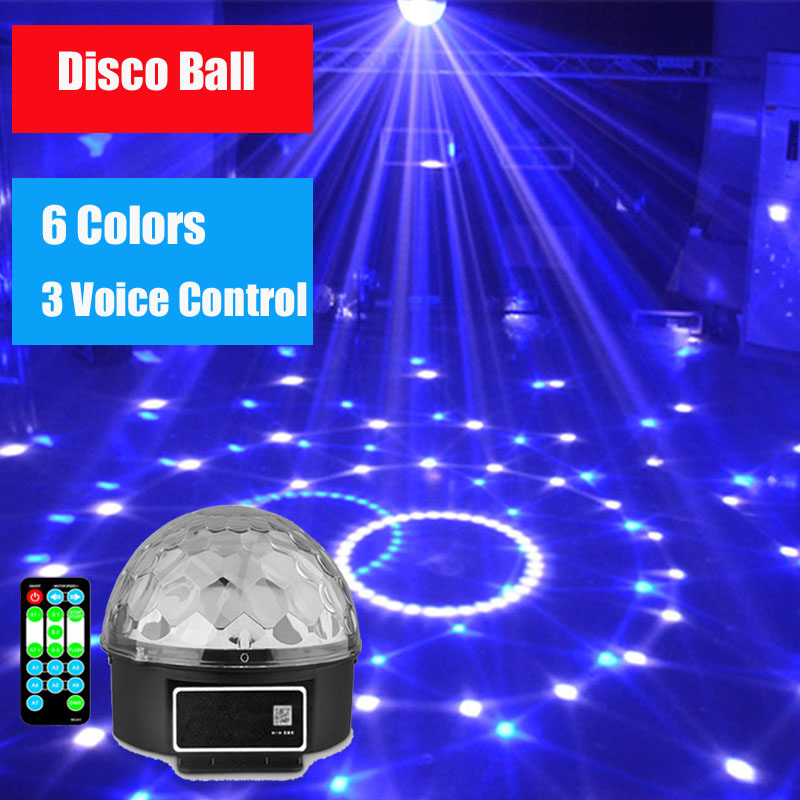 LED Stage Light KTV Disco Strobe Lights Bar Crystal Magic Ball Christmas Decoration New Year's Laser Projector Party Stroboscope 4pcs stage light led disco light 10w dj laser projector mercury lamps festival bar club party disco strobe lights party lights