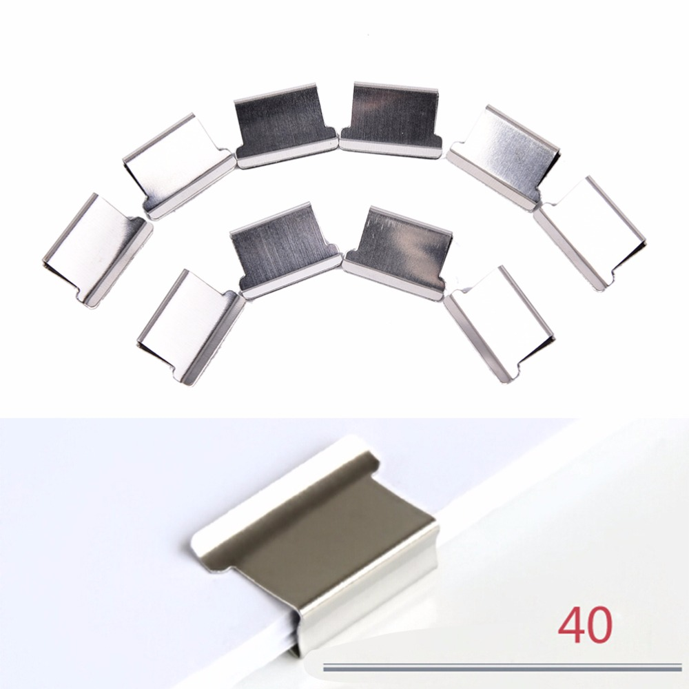 Mini Metal Paper Clippers Stationery School Office Paper