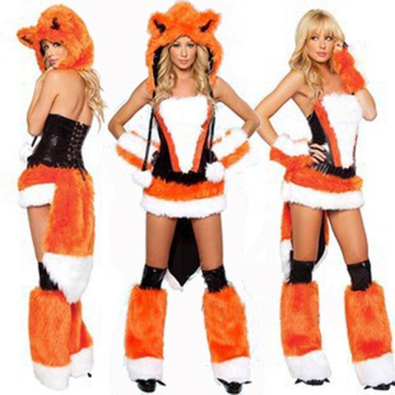 Adult Sexy Grey Wolf Animal Cosplay Costume Halloween Women Procosplayshop