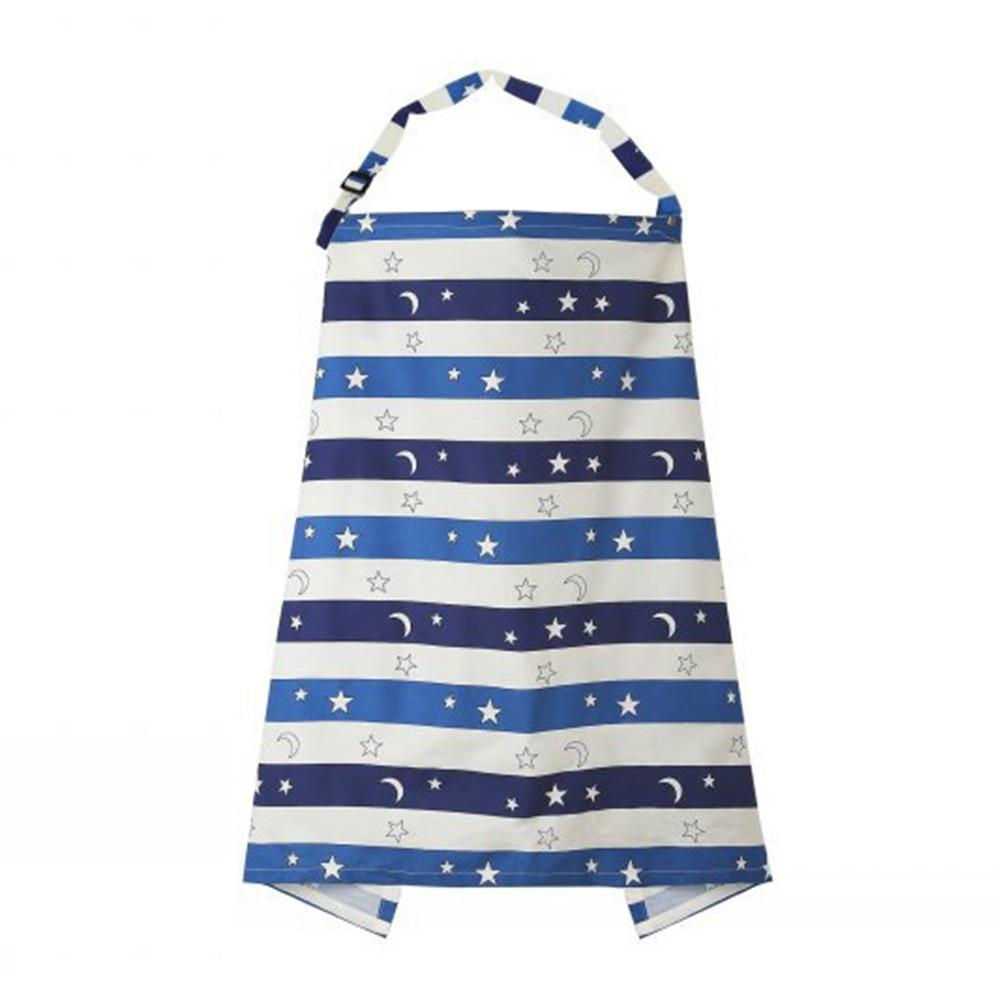 Защелкивающийся чехол для грудного вскармливания поставляется с сумкой для кормления детское одеяло для чехол для детской бутылочки Прямая - Цвет: striped starry sky