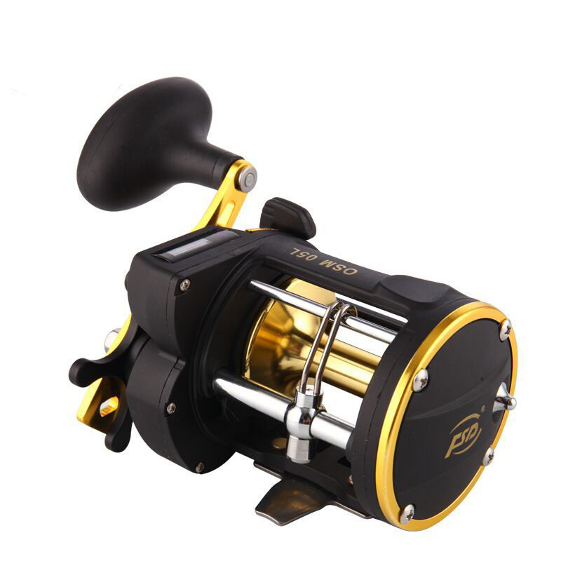 YUYU Metal Digital Casting Fishing wheel Bait Trolling Reel 6 0 1 Saltwater Right Hand Sea