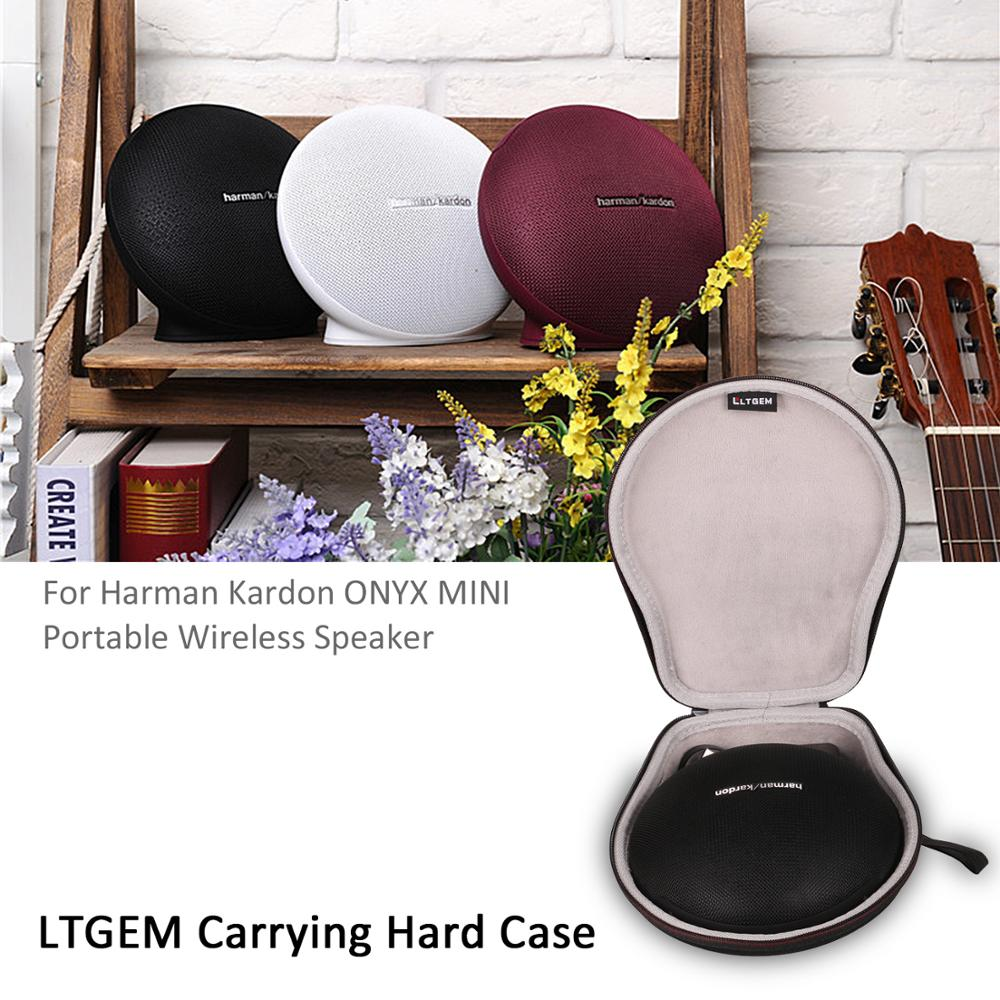 LTGEM EVA Hard Case For Harman/kardon - Onyx Mini Portable Wireless Speaker (Carrying Storage Bag)