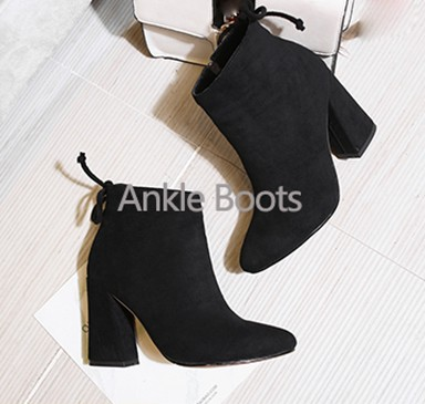Товар QUTAA 2017 Women Pumps Square High Heel PU leather Pointed Toe ... fa7d867ca0ae