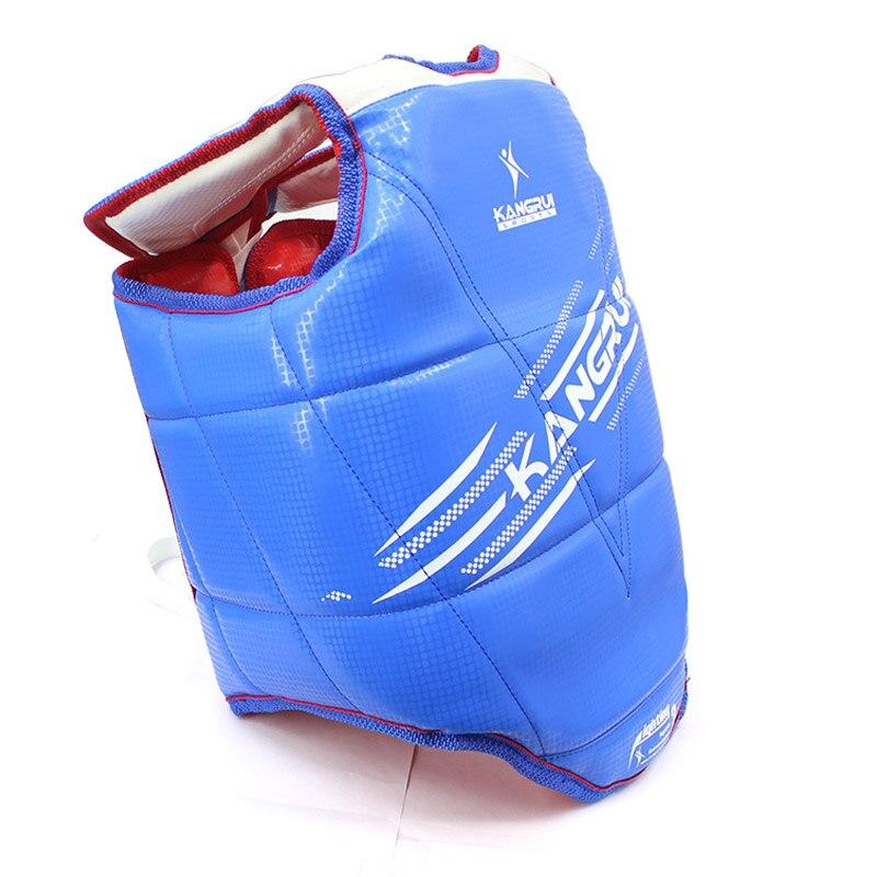 Двусторонняя тхэквондо грудь охранника красные, синие высокие профессиональные Класс Каратэ грудь защитника с плеча охранника для детей и ...