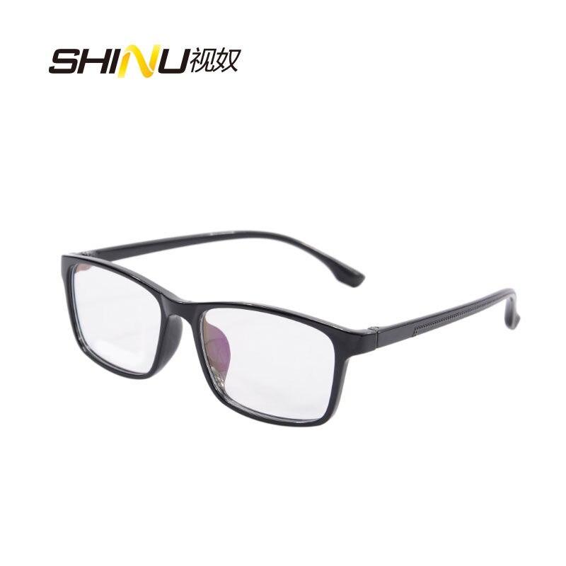 4c003733e1 SHINU Anti Blue light Photochromic Sunglasses Photosensitive Chameleon Anti-glare  Glasses Change Color Lens Prescription