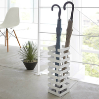 Creative style Metal brick style household fashion umbrella stand Hotel simple decoration waterproof golf umbrella storage