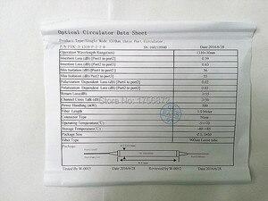 Image 5 - 3 Port 1550nm Fiber Polarization Insensitive Optical Circulator  FC/PC