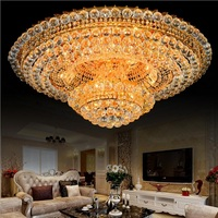 Crystal Led Ceiling Lights For Home Lamp Three Colors Light With Remote Control Lighting Lustre Plafonnier