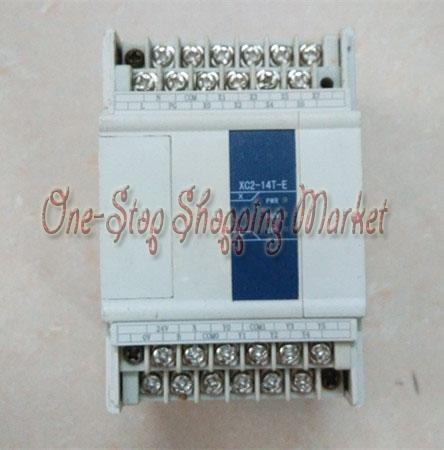ФОТО New Original Programmable Controller Module XC2-14T-E PLC AC220V DI 8 DO 6 Transistor